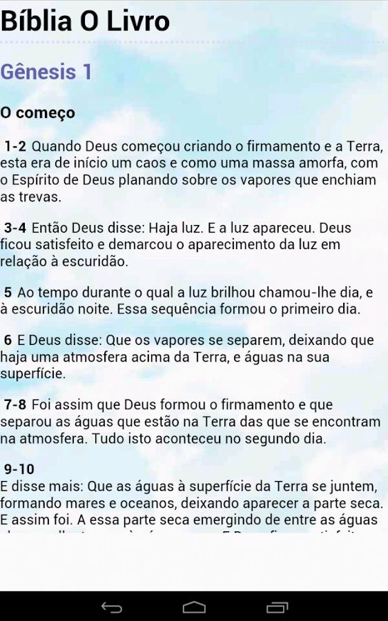 Bíblia O Livro - screenshot