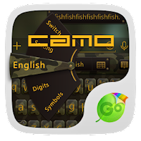 Camo Emoji GO Keyboard Theme 1.65.20.60