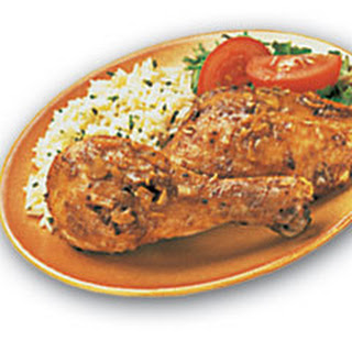 Roasted Chicken Au Jus.