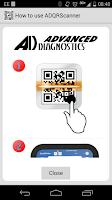 Screenshot of ADQRScanner
