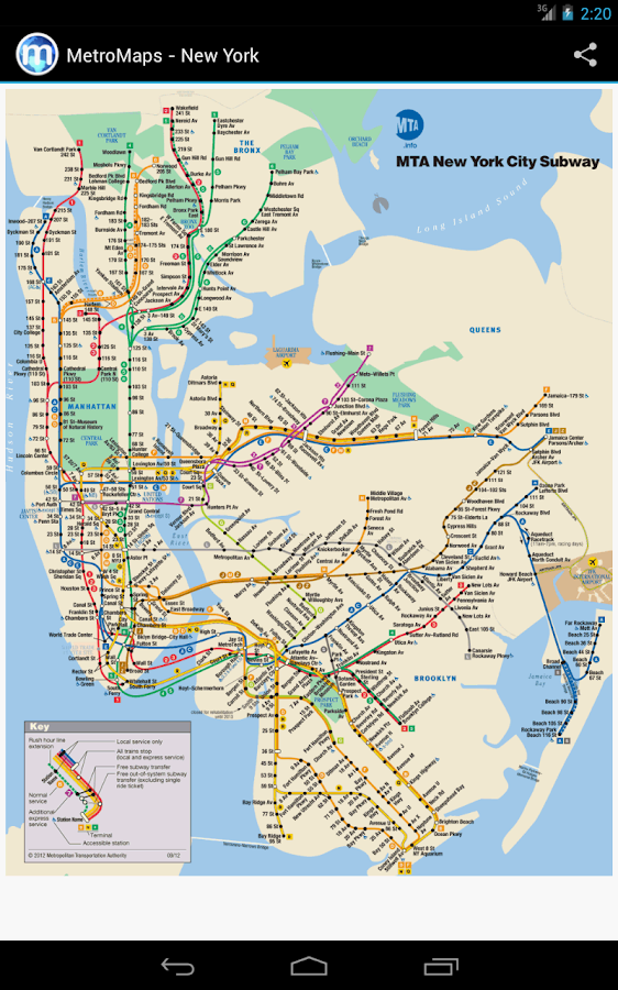MetroMaps, 100+ subway maps- screenshot