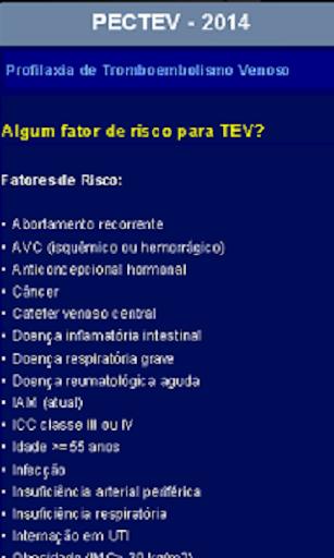 PECTEV-Tromboembolismo Venoso