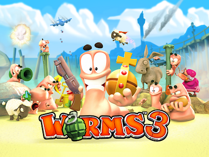 Worms 3 Screenshot 1