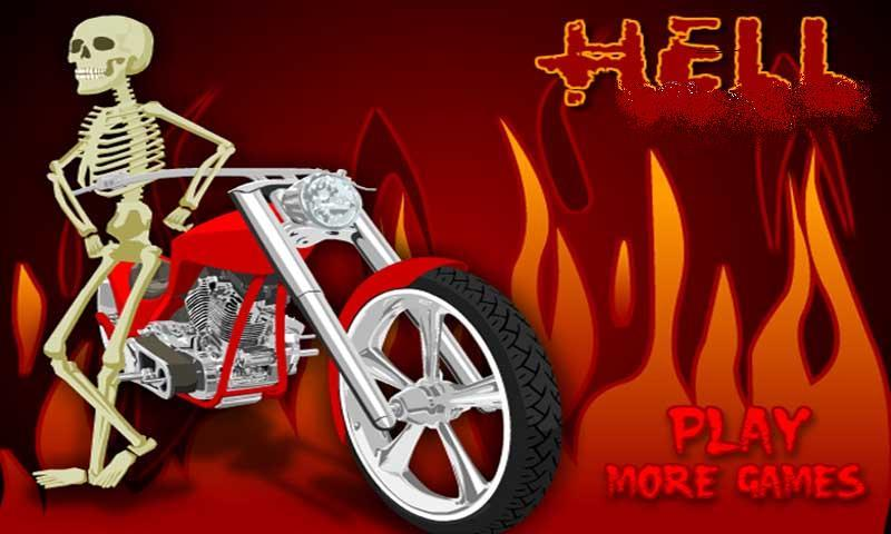 Hell Death Race:Racing Moto - screenshot