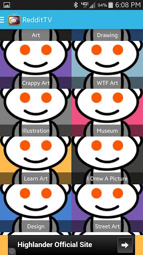 【免費媒體與影片App】RedditTV-APP點子