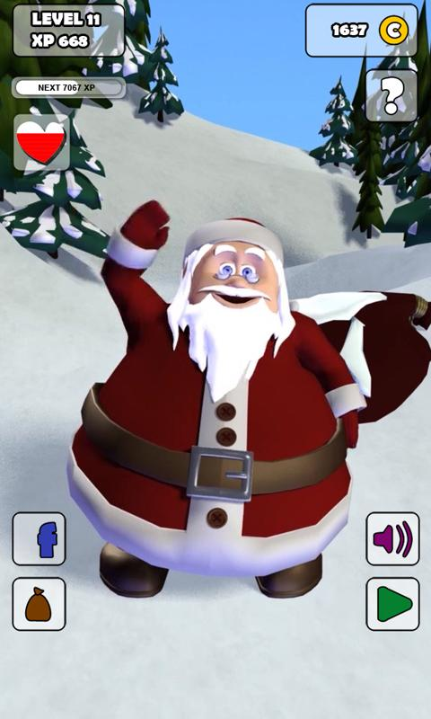 Talking Santa Free- screenshot