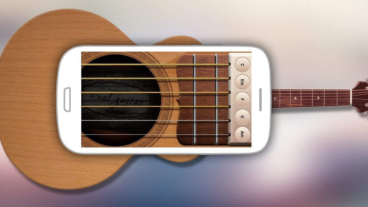Real Guitar - screenshot
