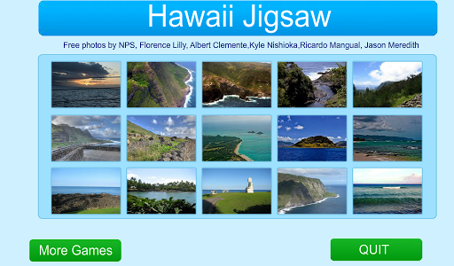 Hawaii Scenic Jigsaw - FREE