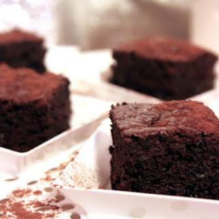 3 Chocolate Brownies.