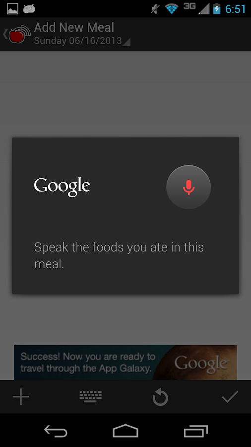 Sound Off Food Tracker - Free - screenshot