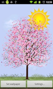 Lonely Cherry Blossom Tree LW - screenshot thumbnail