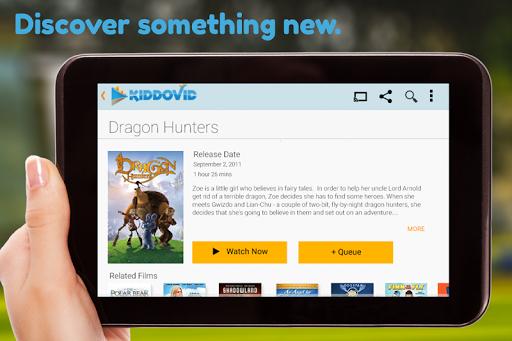 【免費媒體與影片App】KiddoVid Free Kids Movies-APP點子