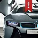 BMW I8 Spyder Concept LWP Free logo