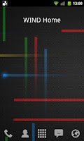 Screenshot of Network Provider Widget