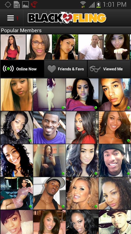 BlackFling - Black Dating App- screenshot