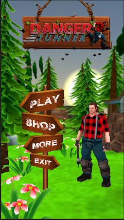 Danger Runner 3D Bear Dash Run 1.5 screenshot 1646780