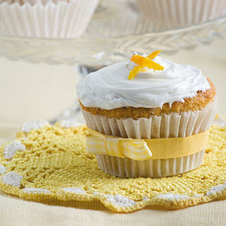 Orange Puff Cupcakes.