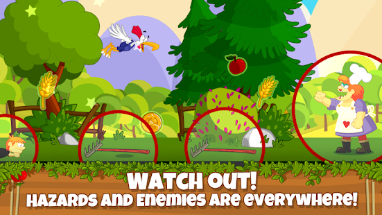 Chicken Fly! - Platform Jumper- screenshot thumbnail