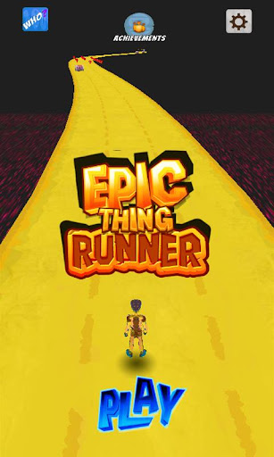 Epic Thing Runner