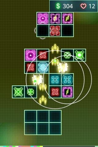 Retro Defense Lite - screenshot
