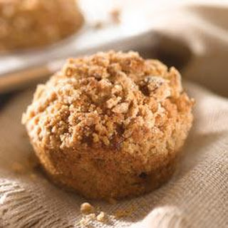 Peanut Butter Banana Flax Seed Muffins.