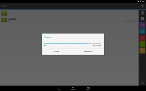 Operator File Manager- screenshot thumbnail