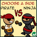 Pirate Vs Ninja Lite icon