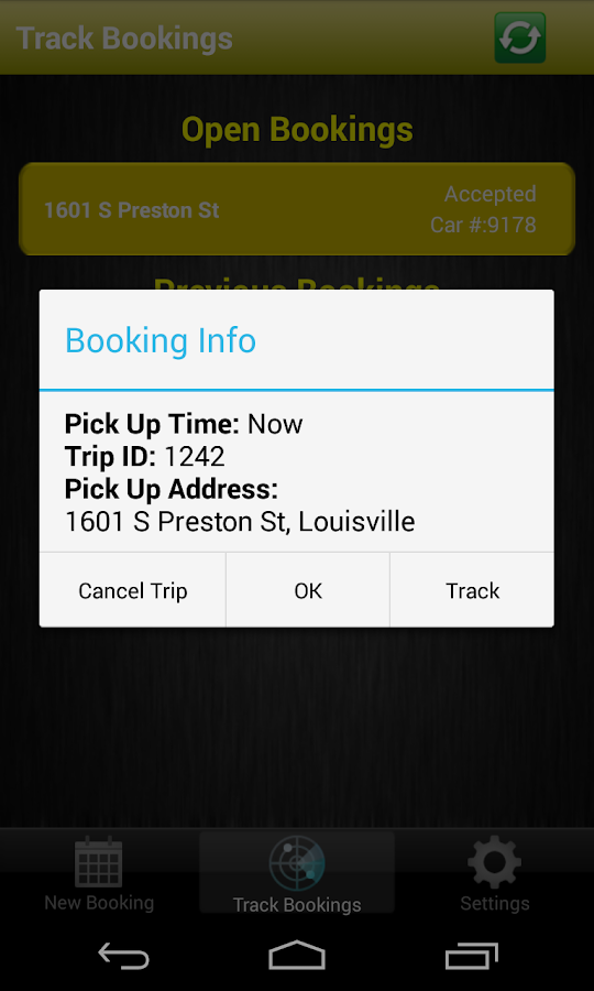 Yellow Cab Louisville- screenshot