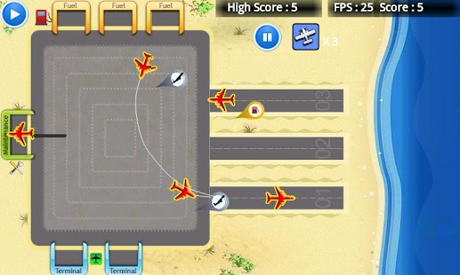 Air Control Runway Free - screenshot thumbnail