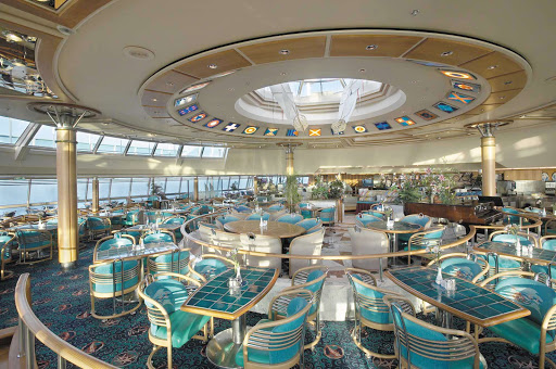 Vision-of-the-Seas-Windjammer-Cafe - Buffet meals are served at the Windjammer Café, on deck 9 of Vision of the Seas.