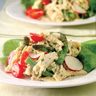 Chicken Salad With Asparagus.