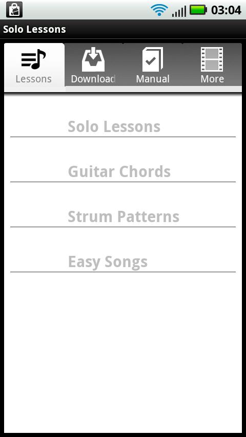 Solo Guitar Lessons - screenshot