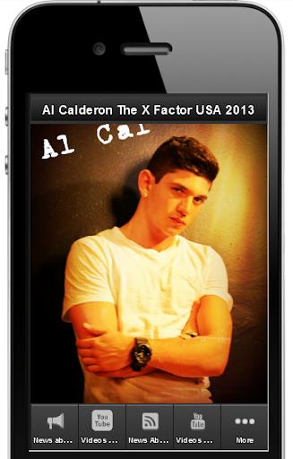 Al Calderon TheXFactorUSA 2013