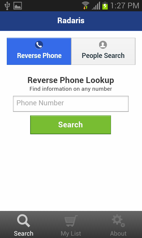 Reverse Phone Lookup - Radaris - screenshot