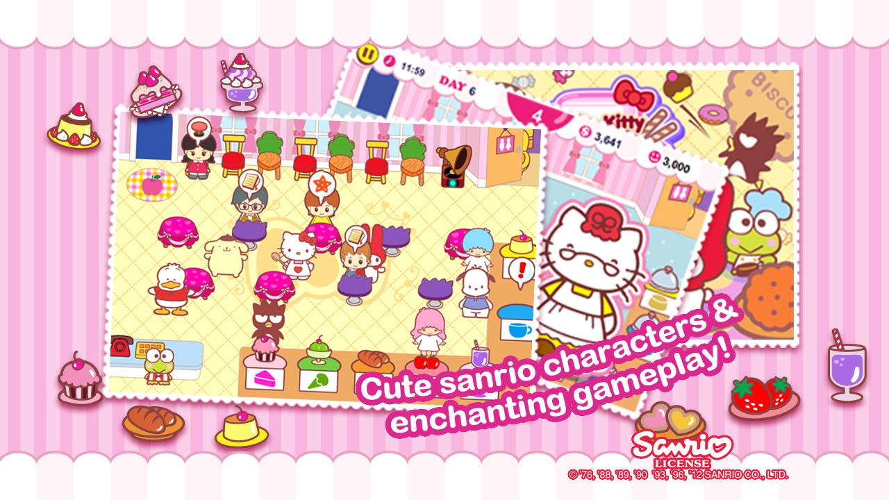 Hello Kitty Cafe- screenshot