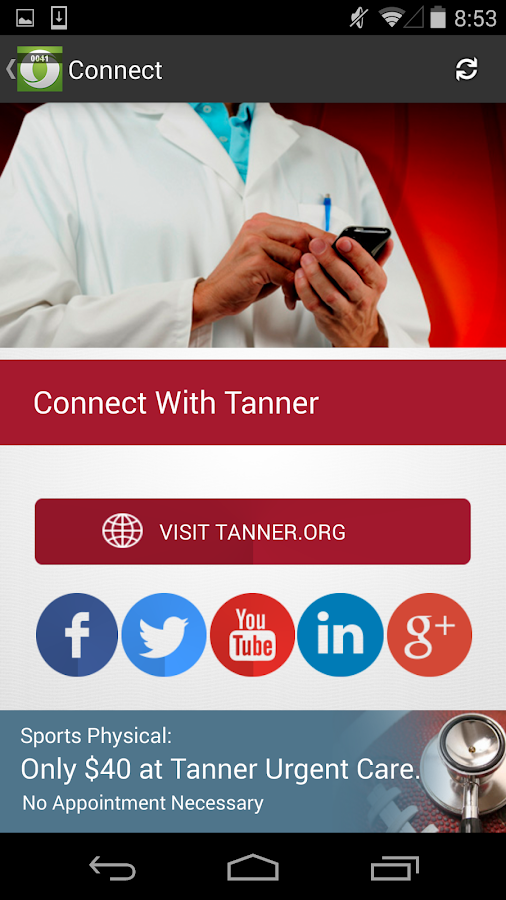 Tanner Urgent Care- screenshot