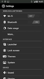 Outline Theme for CM9/10 - screenshot thumbnail