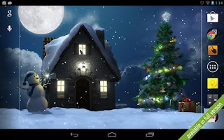 Screenshot of Christmas Moon free