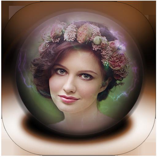 水晶球相框 LOGO-APP點子