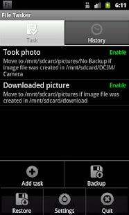 File Tasker- screenshot thumbnail