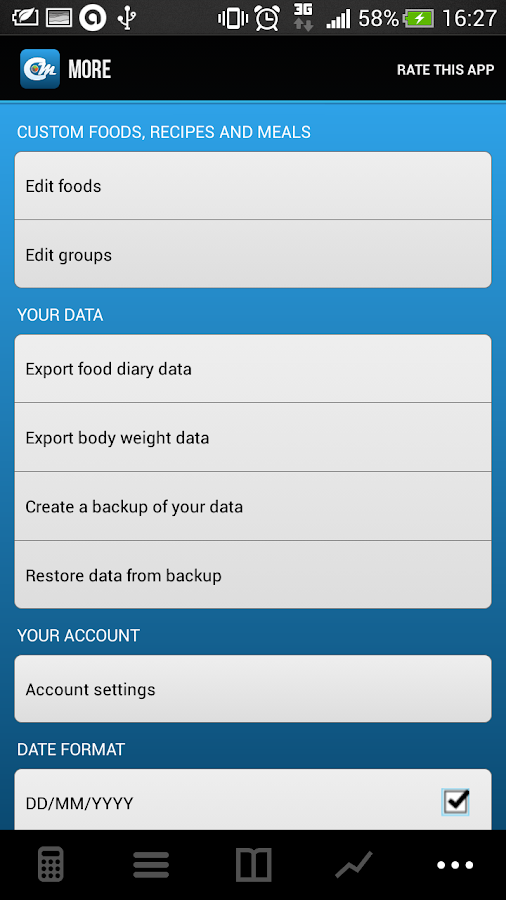 Cals & Macros FREE - screenshot