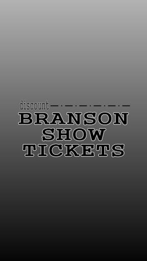 Discount Branson Show Tickets