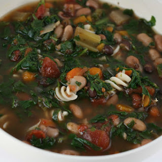 Traditional Minestrone Soup Slow Cooker