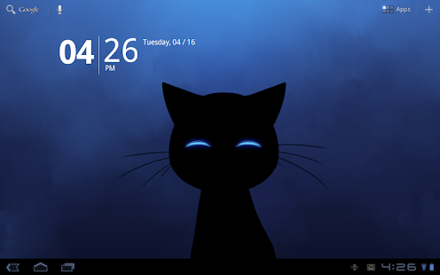 Sneaky Cat Live Wallpaper Screenshot