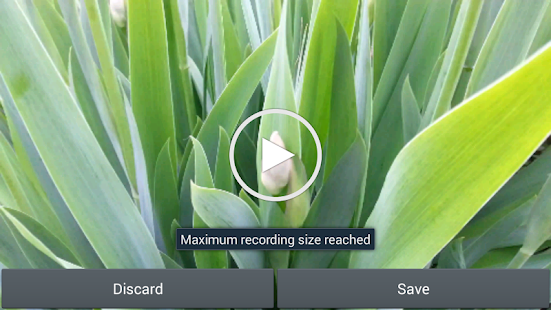 Control Video Recording - screenshot thumbnail