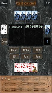 GrassGames' Cribbage- screenshot thumbnail