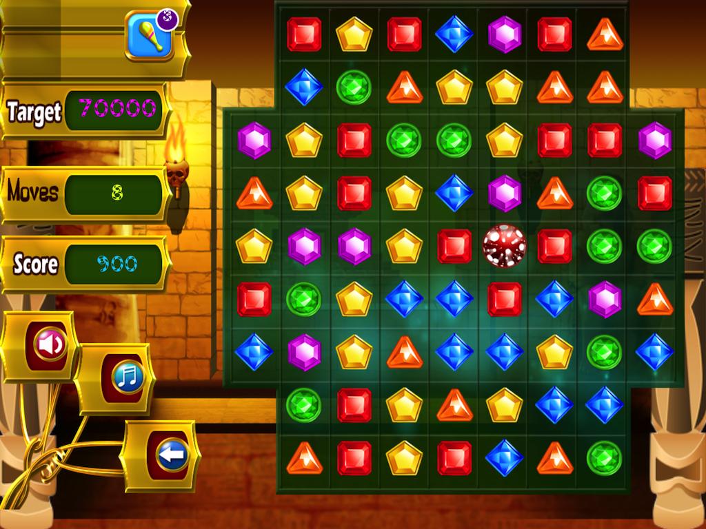 Treasure Match Pyramid Quest - screenshot