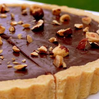 Nutella-Hazelnut Tart.