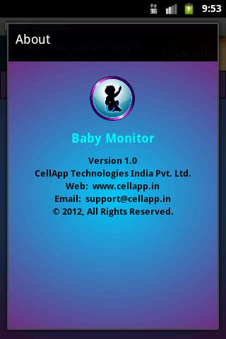 Baby Monitor- screenshot