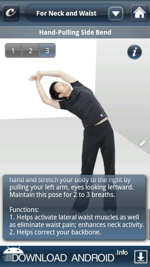 Stretch Exercises- screenshot